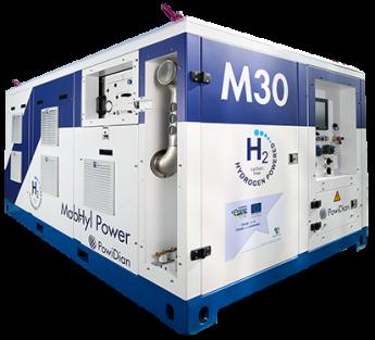 30kVA Hydrogen H2 Generator Gennie